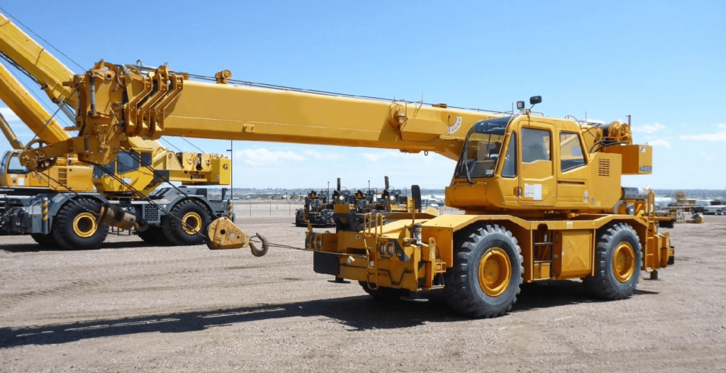 Equipment and cranes for sale in South Africa  We sell new and used